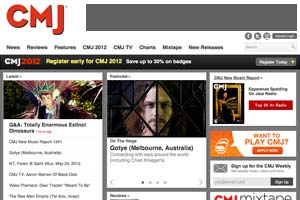 CMJ Website Redesign