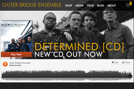 Outer Bridge Ensemble Website