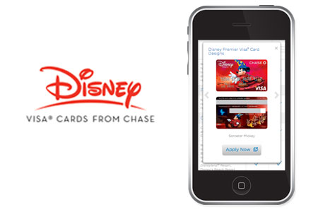 Disney Visa Website
