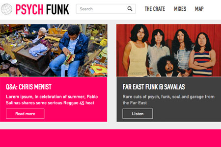 Psych Funk Website